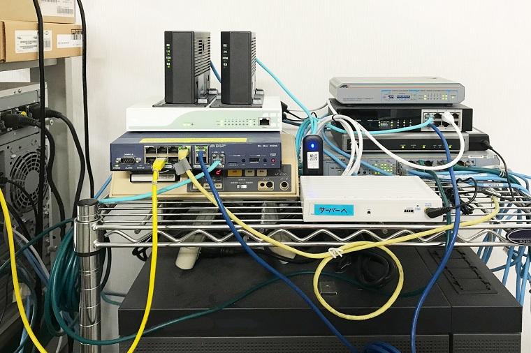 配線インターネット