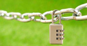 暗号の施錠