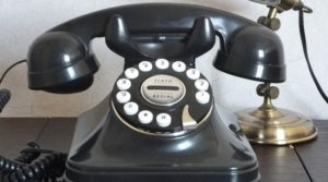 固定電話ダイヤル式