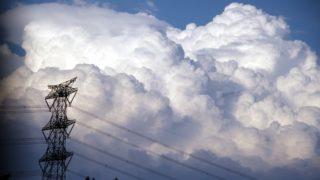 発達した積乱雲
